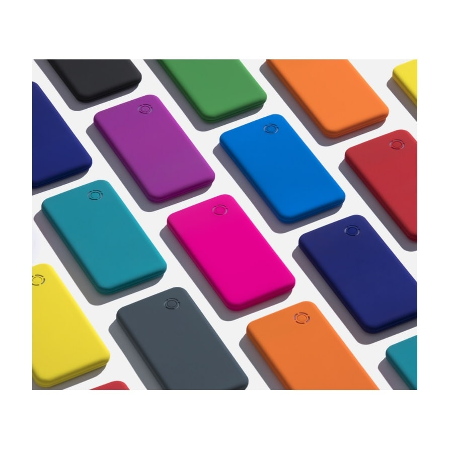 Colorissimo energijos talpykla power bank 4000 mAh 12 5 x 6 4 x 0 7 cm